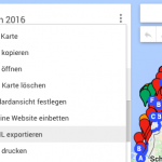 Convert Google MyMaps KML Data to Pocket Earth GPX Format